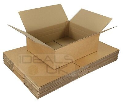 25 x Maximum Size Royal Mail Small Parcel Boxes (450x350x160mm) Cardboard Postal