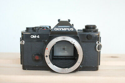 Olympus OM-4 film camera body - read description