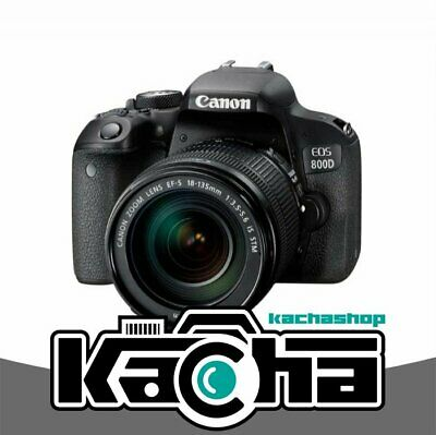 NUEVO Canon EOS 800D Kit with EF-S 18-135mm f/3.5-5.6 IS STM
