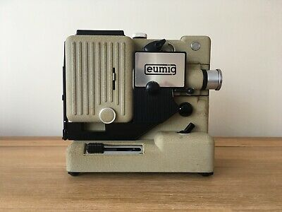 Eumig 8mm Projector Boxed and Globes - Working