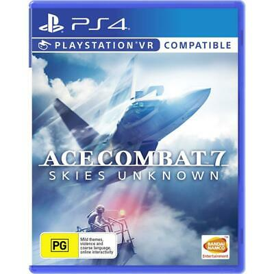 **** PS4 GAME -  ACE COMBAT 7: Skies Unknown - BRAND NEW & SEALED