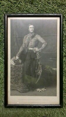 Portrait of  HIS ROYAL HIGHNESS, ALBERT EDWARD, PRINCE OF WALES - c1880