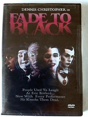 Fade to Black ( DVD, 1999 ) FACTORY SEALED / REGION 1