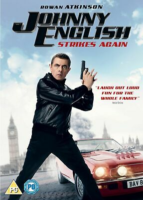 Johnny English - Strikes Again (Dvd + D/d 2018) Rowan Atkinson...new/sealed