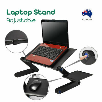 Portable Foldable Laptop Stand/Tray/Desk/Table w mouse pad AU