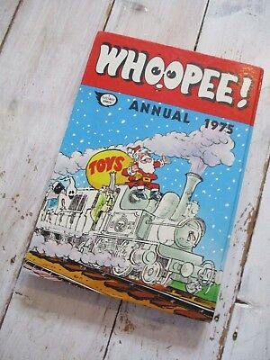 VGC With Price Intact Whoopee! UK Annual 1975