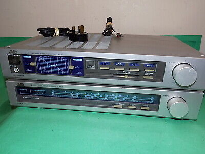 JVC Vintage Stereo Amp Amplifier Hifi Separate A-K11 and Stereo Tuner Made Japan