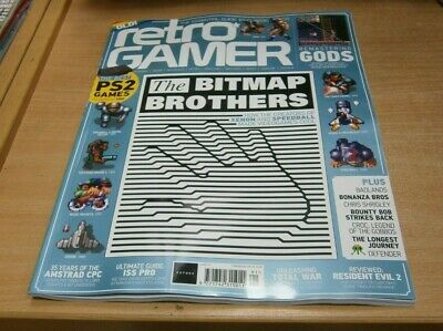 Retro Gamer magazine #191 2019 The Bitmap Brothers, PS2 Games, Remastering Gods
