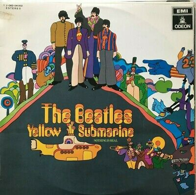 THE BEATLES + Yellow Submarine + Nothing Is Real  -  LP