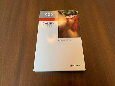 owners manual 2011 camry