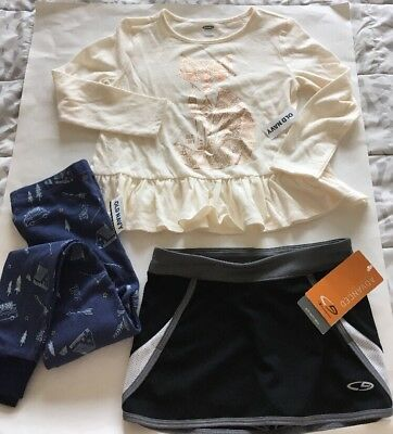 NEW! Lot of 3 Girls Clothes Size 5!