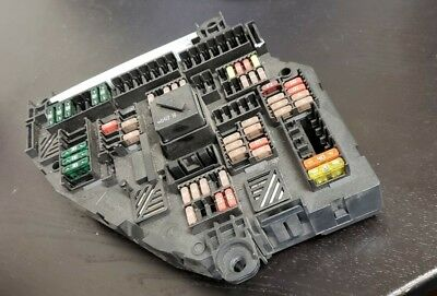 Used Oem Fuse Junction Box Bmw 5 6 7 B7 M5 M6 Series 2012 9252812 Trunk Mounted