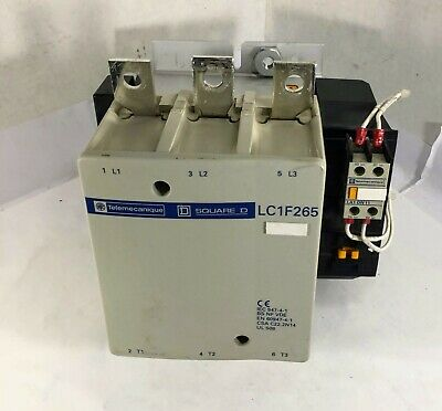 1 Used Telemecanique Lc1F265 Motor Contactor ***Make Offer***