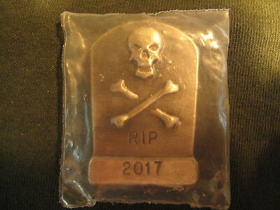 Yeager's Poured Silver 100 Grams .999 Fine Tombstone Silver Bar. Yps