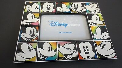 Mickey Mouse Disney Store Picture Frame 8 X 10 Holds 4 x 6 Picture NEAT!