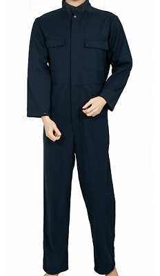 Protal FR/AS Navy Fire Retardent Antistatic Coverall FRA220A