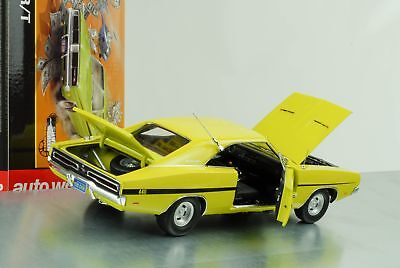 1969 Dodge Charger R/T Movie Dirty Mary Crazy Larry Lemon Green 1:18