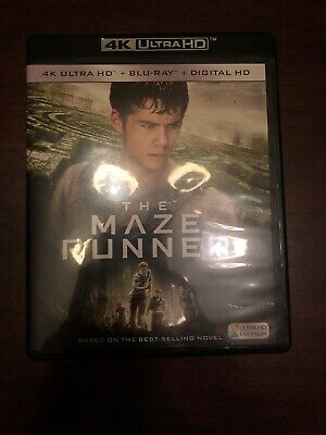 The Maze Runner 4K Ultra HD + Blu-Ray No Digital Excellent Condition