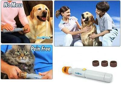 New Electric Pet Nail Cordless Trimmer Pedi Paws for Dog Nail Grinder