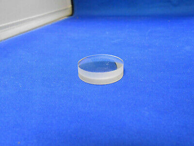 325260Pc  Unisys Clear Glass Optical Instrument Lens  New Old Stock