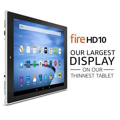 "Amazon Kindle Fire HD 10 Tablet with Alexa, 10.1"" HD Display, 16 GB, SILVER"