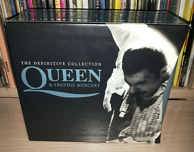 Box 4 Cd Queen - Mercury - The Definitive Collection - Tv Sorrisi