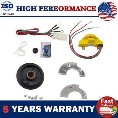 12V Ignition Conversion Points Eliminator Module Kit For Ford Pickup Trucks