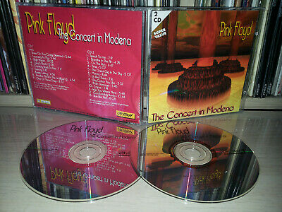 2 Cd Pink Floyd - The Concert In Modena - 1994
