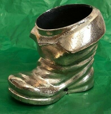 Vintage Silver Plate Tekform 925 Decorative Boot