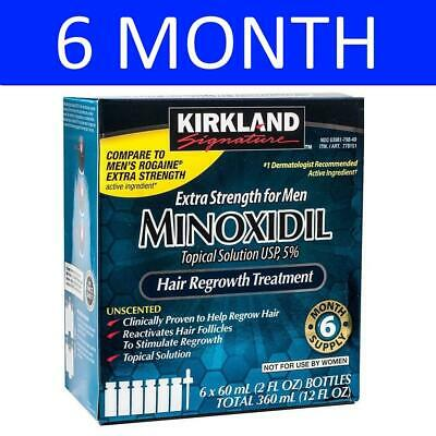 Kirkland Signature Minoxidil Solution 5% - 12 Month Supply - Expiry 05/2020