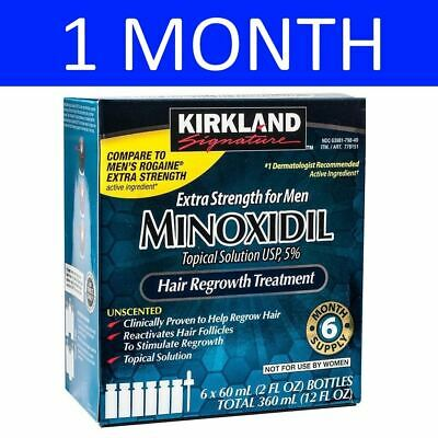 Kirkland Signature Minoxidil Solution 5% - 1 Month Supply - Expiry 05/2020