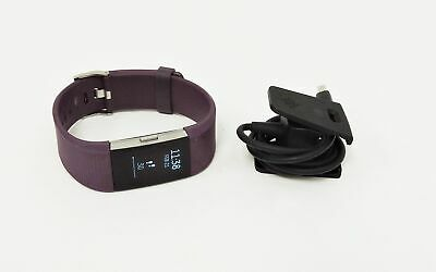 Fitbit Charge 2 Heart Rate Activity Tracker - Large, Plum