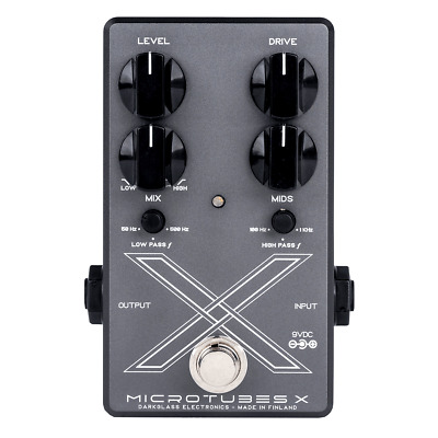Darkglass Electronics Microtubes X Bass Preamp Pedal