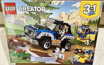 225 pieces - New in sealed box Creator 3 in 1 Outback Adventures LEGO 31075
