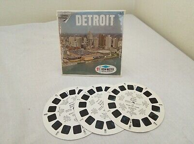 Viewmaster Reels - Detroit (A 583)