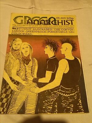 Green Anarchist First Issue 1984? Vg+ The Convoy Posion Girls Colin Ward