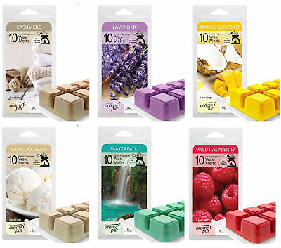 Wax Melts Cubes For Oil Electric Burners Candle Wick Tart Bar Air High Scented