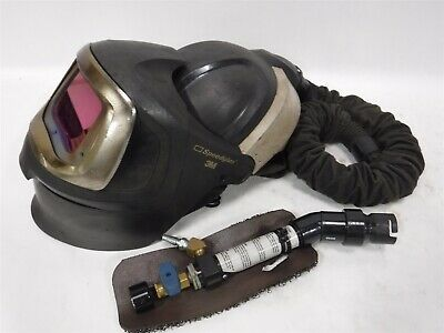 Used 3m Speedglass 9100 MP 9100XX Welding Helmet W/ Vortemp V-200 B