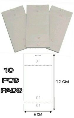 10 Pcs Single Kitchen Restaurant Pads Cafe Takeaway Pub Food Waiter Numbered New