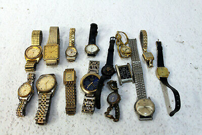 I sell 15 wristwatches to be restored see photos for details