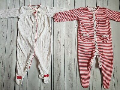 Baby Girl Next Bow Sleepsuit Set 6-9 Months 🎀