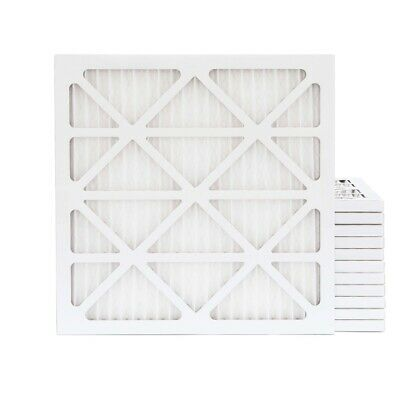 12x12x1 MERV 11 Pleated Air Filters. 12 PACK. Actual Size: 11-1/2 x 11-1/2 x 7/8