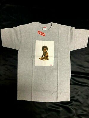 20226bbcfa Supreme Biggie Smalls Ready To Die Tee Grey M FW 2011 T1 New w Tags Box
