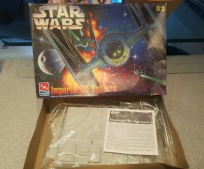 AMT Ertl Modellbausatz / Model kit Star Wars Imperial Tie Fighter *out of print*