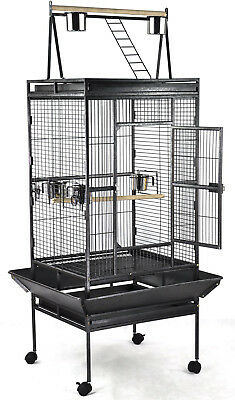 """Large Parrot Bird Cage With Play Top 68"""" x 31.5"""" x 29.75"""""""
