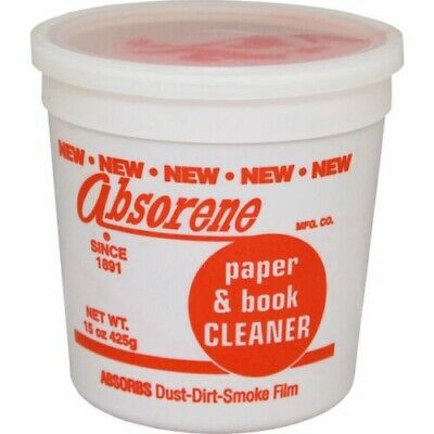 Absorene Paper and Book Cleaner - Removes Dirt from Books & Comics