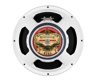 "Warehouse Speakers ET-65 65W 12"" Guitar Speaker, 8 ohm"