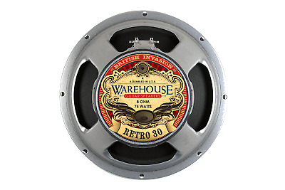 "Warehouse Speakers Retro 30 75W 12"" Guitar Speaker, 8 ohm"
