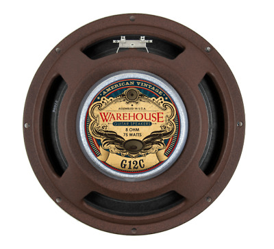 "Warehouse Speakers G12C 75W 12"" Guitar Speaker, 8 ohm"