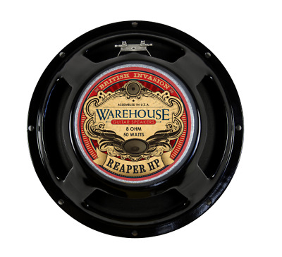 "Warehouse Speakers Reaper HP 50W 12"" Guitar Speaker, 8 ohm"